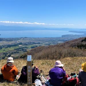 琵琶湖眺めながら…大谷山~赤坂山~明王の禿 縦走登山~前編