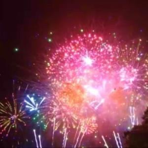 ハワイ、今年の独立記念日の花火は・・! 動画 @ アラモアナビーチパーク
