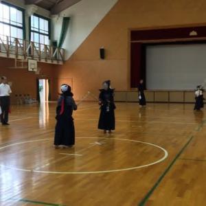次男の剣道の試合