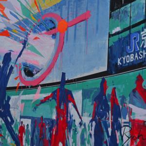 京橋駅周辺アート