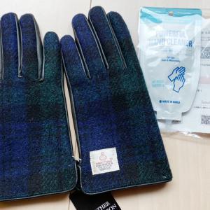 ハリスツイードの手袋