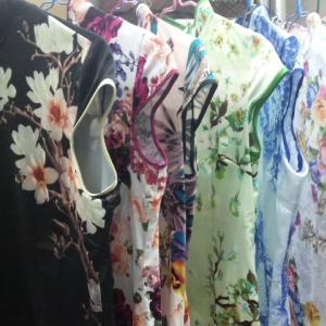 イベント衣装チャイナドレスのお洗濯