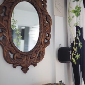 実家にあった鏡