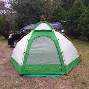 キャンプ回帰録 ~ 水も滴るいいテント ~