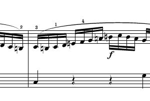 今日のピアノの練習 あせりをよゆうに切り替える トリルの練習を繰り返す