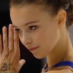 アンナ・シェルバコワ スケートアメリカ2019 フリー演技 (解説:ロシア語)
