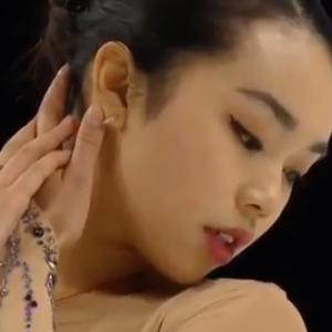 カレン・チェン スケートアメリカ2019 フリー演技 (解説:ロシア語)