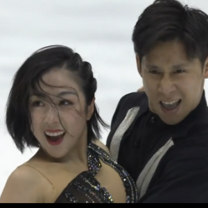 隋文静[ズイ・ブンセン]&韓聰[カン・ソウ] NHK杯2019 ショート演技 (解説:ロシア語)