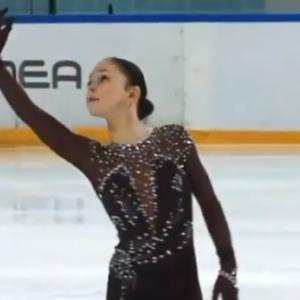 ソフィア・サモデルキナ ロシアカップファイナル2020 ショート演技 (解説:なし)