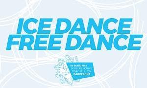 【再放送ストリーミング6月3日(水)】グランプリファイナル2015 アイスダンスフリー演技 (解説なし)