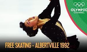 【動画フルVer.】1992年アルベールビルオリンピック 女子シングルフリー演技 (解説:なし)