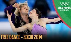 【動画フルVer.】2014年ソチオリンピック アイスダンスフリー演技 (解説:なし)