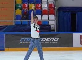 モスクワジュニア選手権2020 男子シングル フリー演技 (解説:なし)