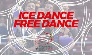 【2020年9月24日(木)再放送】世界ジュニア選手権2018 アイスダンスフリー演技 (解説なし)