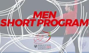 【2020年9月25日(金)再放送】世界ジュニア選手権2018 男子シングルショート演技 (解説なし)