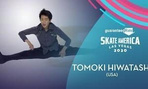 樋渡知樹[トモキ・ヒワタシ] スケートアメリカ2020 ショート演技 (解説:英語)