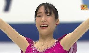 三原舞依 NHK杯2020 ショート演技 (解説:スペイン語)