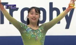 山下真瑚 NHK杯2020 ショート演技 (解説:スペイン語)