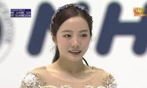 本田真凜 NHK杯2020 ショート演技 (解説:スペイン語)