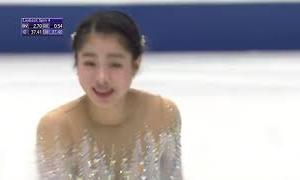 横井ゆは菜 NHK杯2020 ショート演技 (解説:英語)