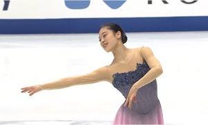 川畑和愛 NHK杯2020 ショート演技 (解説:英語)
