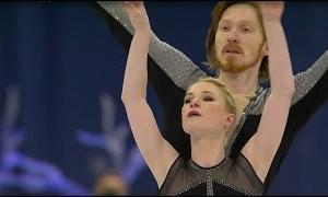 エフゲーニヤ・タラソワ&ウラジミール・モロゾフ 世界選手権2021 フリー演技 (解説:英語)