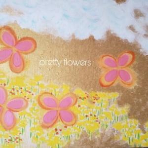 イラスト「pretty flowers 」