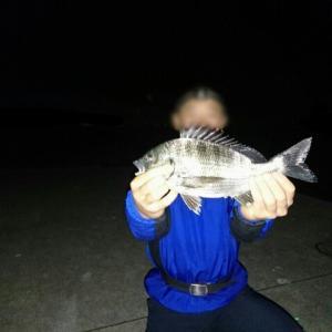 11月2日 某所で夜釣り