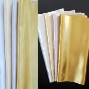 カラー診断用金銀ドレープ