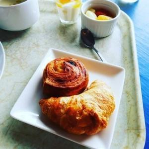 ホテルの朝食☆