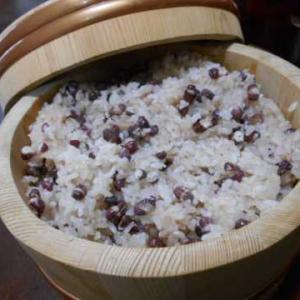 赤飯&大根とちくわの煮物
