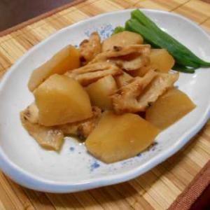 大根とちくわの煮物(圧力鍋4分)