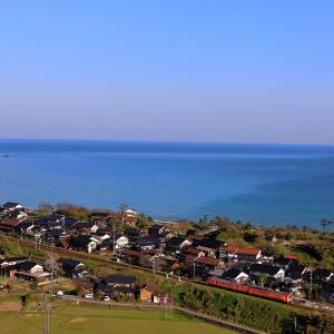 東浜上段俯瞰でキハ33