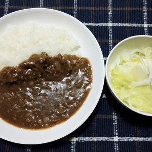 昨日は夕食で久しぶりに自宅で米を食べました。