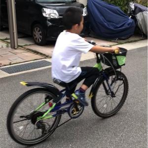 自転車乗り換え☆