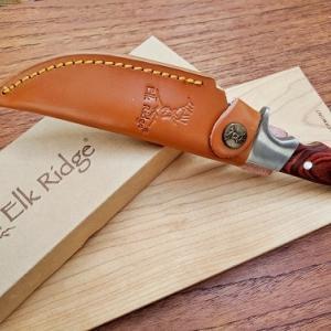 春キャンプまで待ちきれない!!フルタングのシースナイフを購入