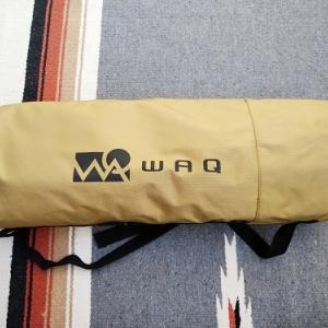 さすが日本製!新アウトドアブランドWAQのコットが到着