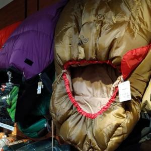 クリスマスセール中のWILD-1デックス東京ビーチ店に潜入してシュラフ購入