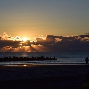 年越しは九十九里浜で初日の出拝んでキャンプ三昧【キャンプ3日目初日の出編】