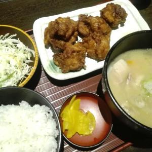 札幌駅 398円のザンギ定食♪