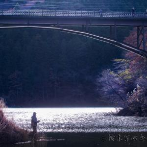 さくら写遊会さんと「東古屋湖」撮影