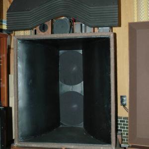 JBL #375の内部配線交換