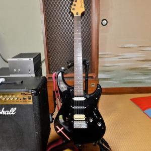 お気に入りのギターとコンボアンプ