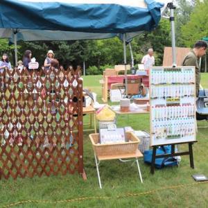 芸森の森アートマーケットに参加