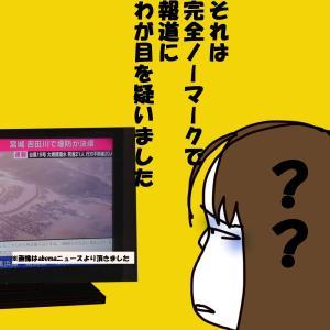更年期と台風と反省と東日本の堤防決壊