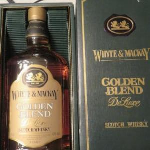 昨夜のお酒『ホワイト&マッカイ ゴールデンブレンド デラックス』