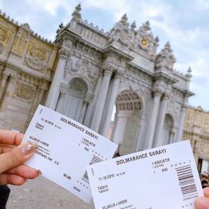 【10日で3ヶ国旅】DAY5 ドルマバフチェ宮殿へ
