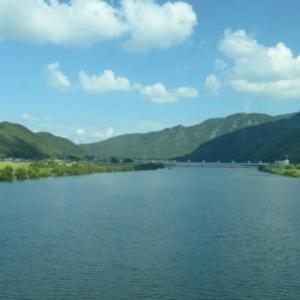 新幹線から見える川シリーズ第一弾?