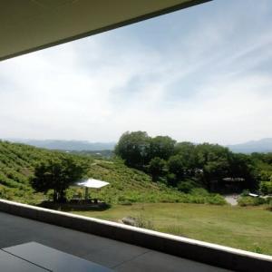 一人独占は 最高だ。『 空気よし  広い丘から 気持ちよく 』展望川柳