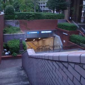 地下鉄の排気口